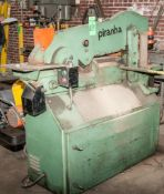 Piranha Model P3 Hydraulic Ironworker, S/N P3-1778, (1989), Asset 80-357