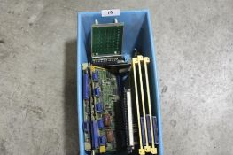 (Lot of 9) Fanuc Boards