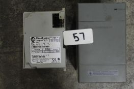 (Lot of 2) Allen-Bradley 1746-P2 & 1769-PA4 Power Supply (cosmetic damage to case)