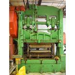 Toledo 200-Ton Model 85E Straight Side Double Crank Press