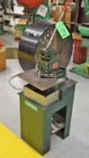 "Tennsmith 6"" Model N Manual Corner Notcher S/N: 0880"