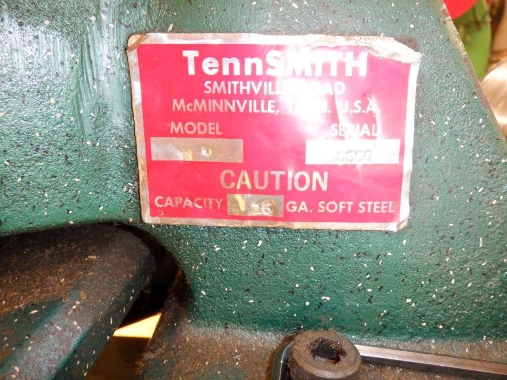 "Lot 3 - Tennsmith 6"" Model N Manual Corner NotcherS/N: 0880"