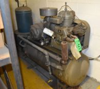 Worthington 25 HP Model BN Air Compressor S/N: BN2153A