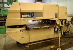 Strippit 20-Ton LVD U1000XP20 CNC Turret Punch S/N: 030102893