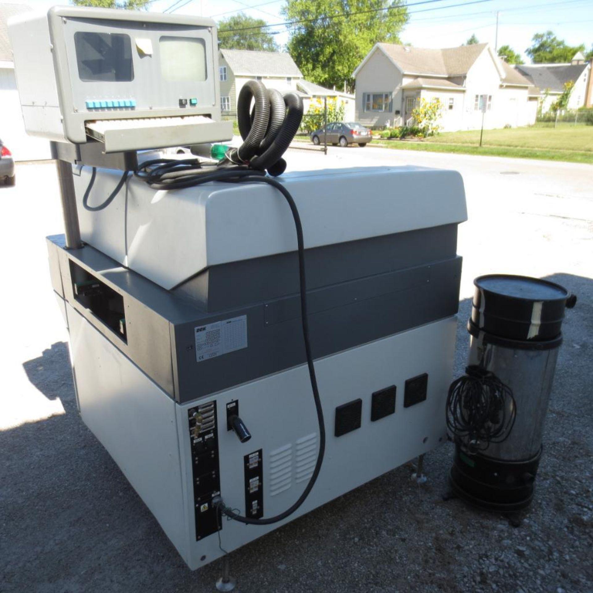 Lot 176 - DEK Screen Printer, Year 2000, Model 235 GSX, S/N 273490 located at 1509 Woodlawn Ave Logansport, IN
