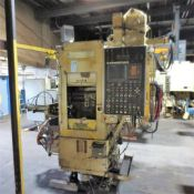 Olofsson Model SV5 Vertical CNC Chucker S/N: 13521 GE Fanuc O-T CNC, No CRT Monter in Control. Loadi