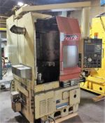 Okuma Model ACT-VR2 Vertical CNC Turning Center S/N: 16011 Fanuc OT CNC Control. Loading Fee is $750