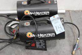 (2) Mr Heater 30-60,000 BTU propane heaters