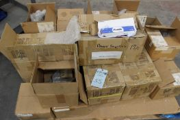 pallet of Forma transformers model 100PS-AIV & hardware