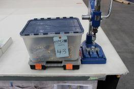 2015 Micron Model DEP-2 Rivet Press s/n 09151122 w/ accessories