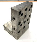 """4""""W x 6""""H x 4""""D Hardened & Ground Precision Angle Plate"""