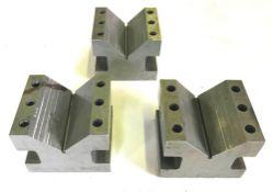 (3) Taft Pierce Style 9129 Precision Angle Blocks