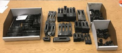 Lot Asst. Hold-Down Clamps