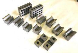 """1"""" x 2"""" x 3"""" Precision Block Set & V-Block Sets"""