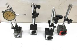 (4) Magnetic Base Indicator Stands
