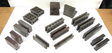 "Lot Assorted Parallel Sets, Magnetic Parallel Blocks, 1-2-3 Block, 3"" x 3"" x 3"" Adjustable"