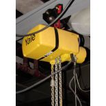 Yale 1 Ton Electric Hoist w/ Pendant Control, 230/460/3/60