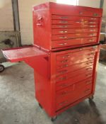 Mac Tool Portable 18 Drawer Tool Cabinet