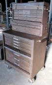 Kennedy 15 Drawer Portable Tool Cabinet