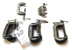 (10) C-Clamps
