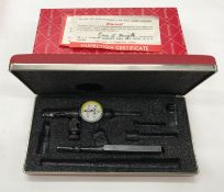 "Starrett ""Last Word"" Cat.711-FS Indicator w/Case"