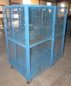 "48""W x 30""D x 57""H Portable Storage Security Cage"