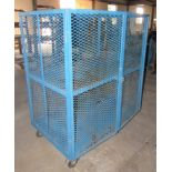 """48""""W x 30""""D x 57""""H Portable Storage Security Cage"""
