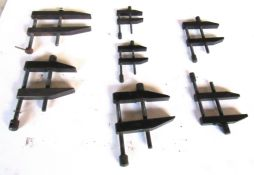 (8) Machinist Parallel Clamps