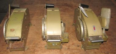 (3) Better Pak 333 Tape Dispensers