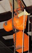 Yale 1/2 Ton Electric Hoist - 1HP,220/3/60