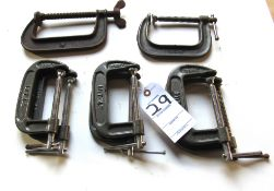 (8) C-Clamps