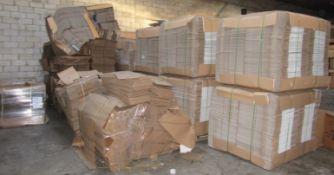 Large Quantity Corrugated Cardboard Boxes