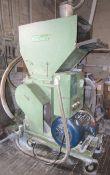 Foremost 30/25HP Plastic Granulator - 230/460/3/60