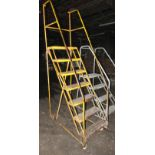 Portable 7 Step Stair Ladder