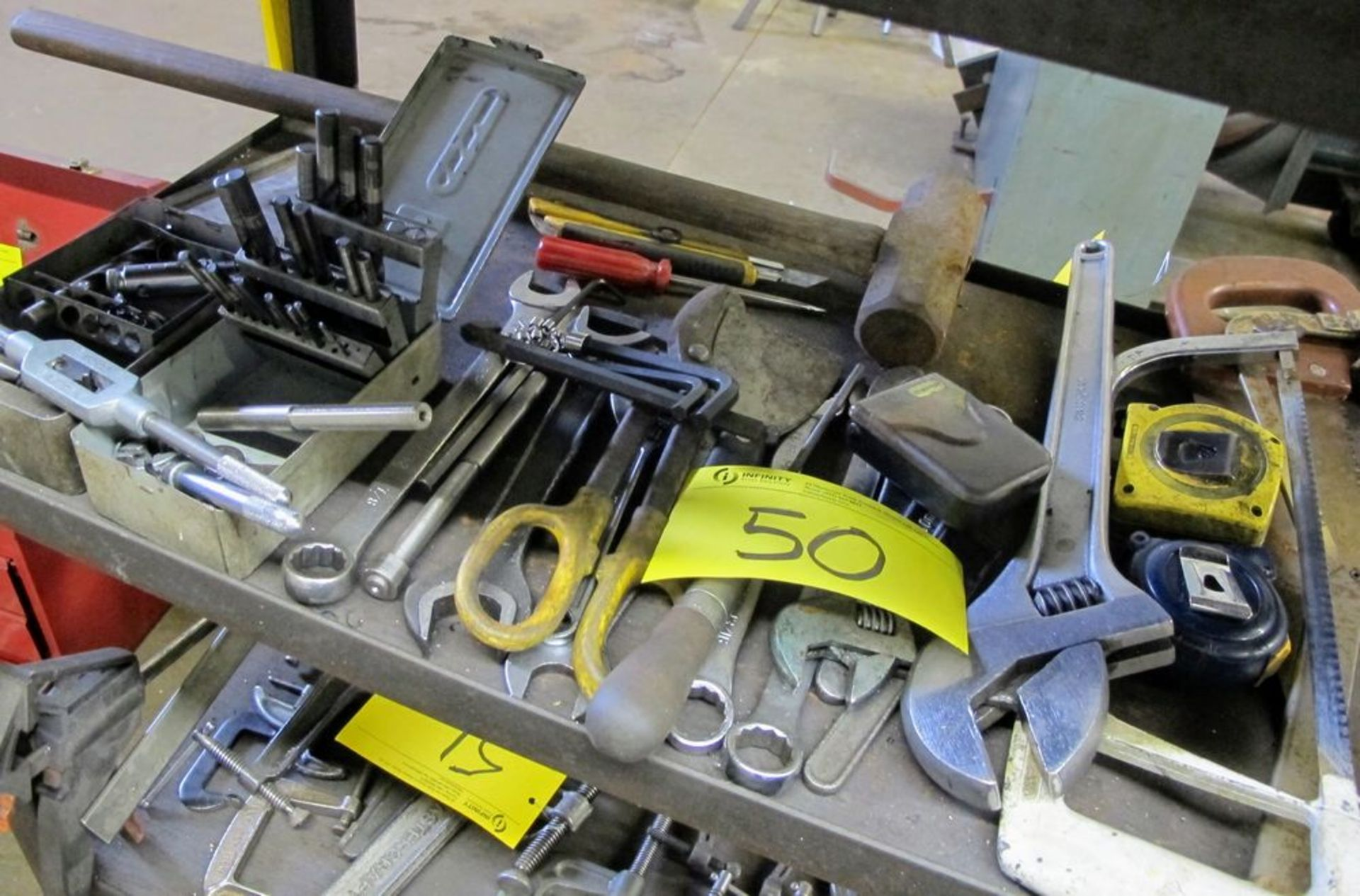 QUANTITY OF HAND TOOLS AND DRILL SETS