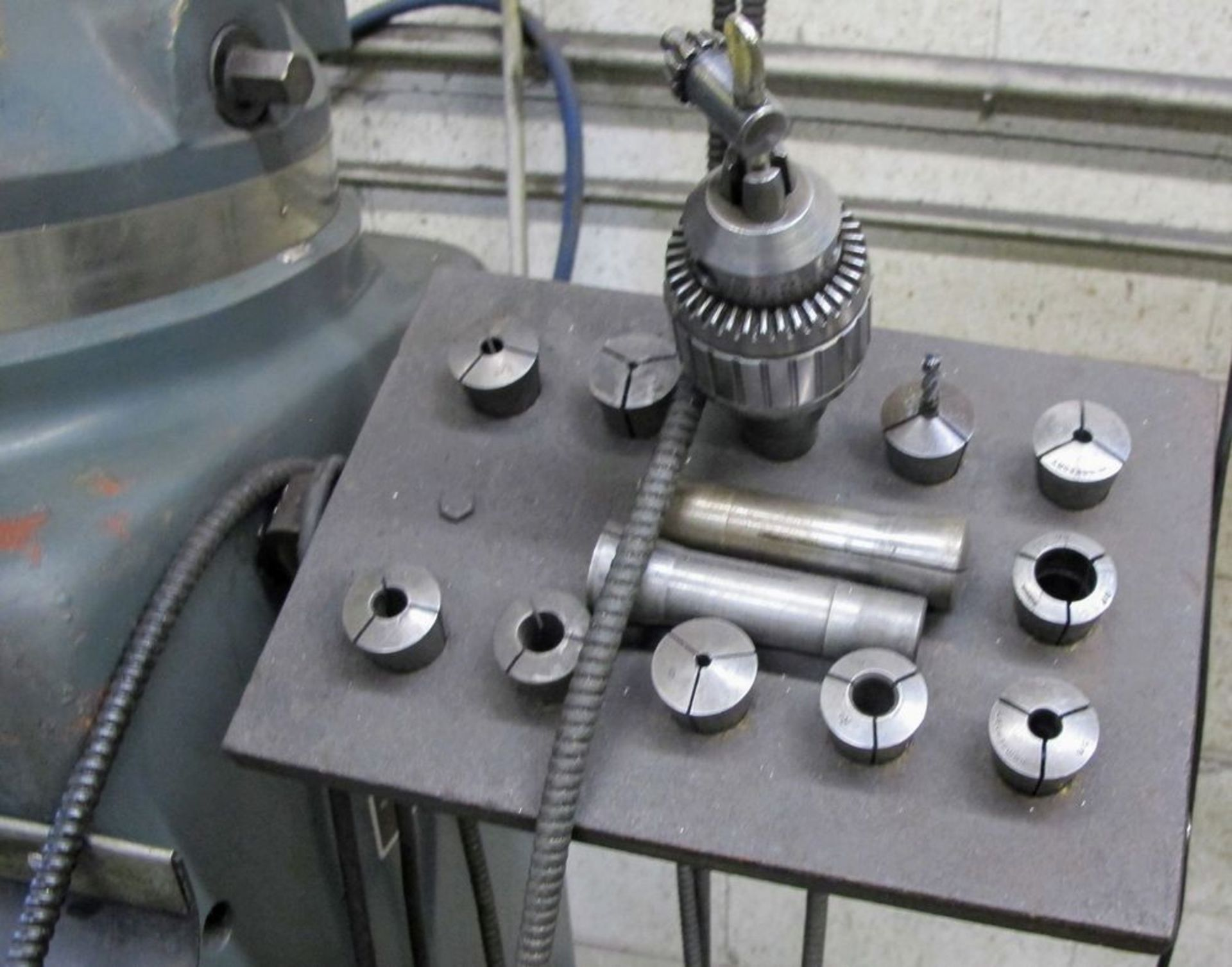 MAXIMART 3 HP VERTICAL MILLING MACHINE, MODEL S-3VS, S/N 95772, FAGOR 2 AXIS DRO, COLLET SET W/ - Image 3 of 7