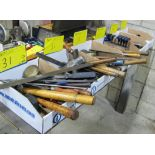 LOT OF 9 BOXES OF HAND TOOLS