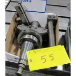 """NAREX BORING CHUCK 4 7/8"""" W/CAT50 TOOL HOLDER AND ATTACHMENTS"""