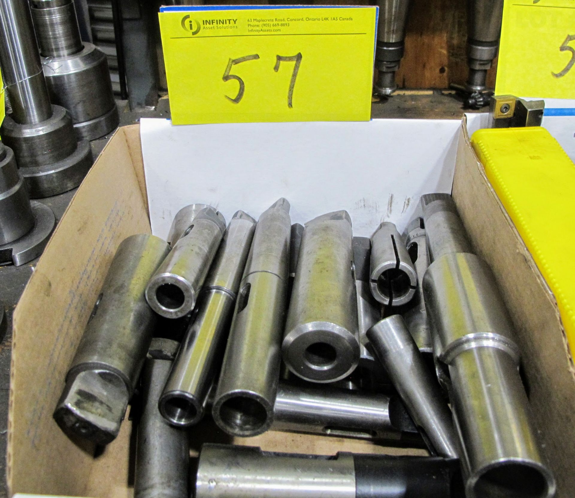 Lot 57 - 1 BOX OF TOOL HOLDERS
