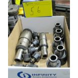 1 BOX OF TOOL HOLDERS W/COLLETS