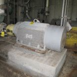 TOSHIBA 4DG200L1HHRC A/C MOTOR, 200 HP, 1800 RPM, 5010US, B-LINE SECONDARY CLEANERS FEED PUMP (