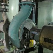 SULZER APT 55-12 16X12X25 PUMP, 5,603 GPM AT 90 FT/HEAD, A-LINE SECONDARY FLOTATION CELL FEED (