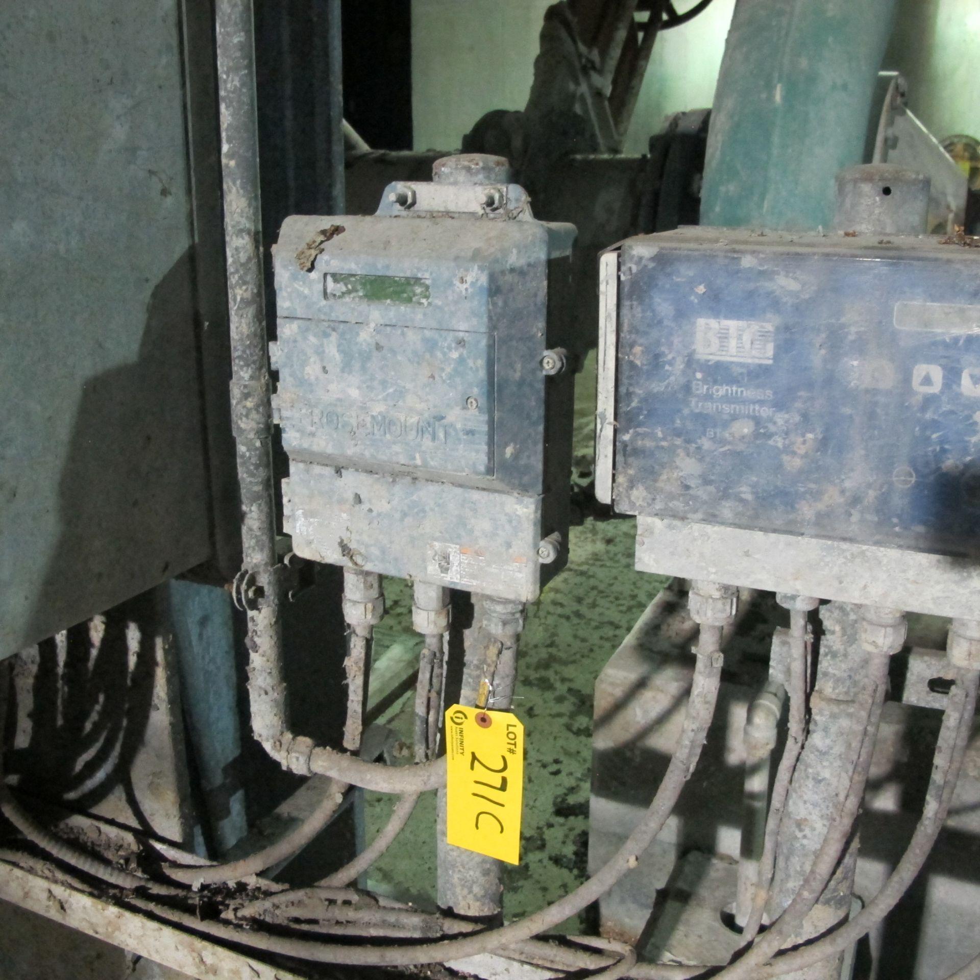 "Lot 271C - ROSEMOUNT MAGMETER 10"" (1ST FLOOR DEINKING BUILDING) W/ CONTROL PANEL"