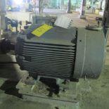 TOSHIBA B1004FLF3BSHD A/C MOTOR, 100HP, 1,800 RPM, 405T FRAME, COARSE SCREENS OVERFLOW PUMP (42574)