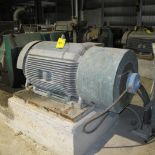 TOSHIBA A/C MOTOR, 400 HP, 460 VOLTS, 1785 RPM, 450 AMPS, 5010US FRAME, 3 PHASE, VARIABLE SPEED