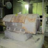 TOSHIBA 8DG200L1HH A/C MOTOR, 200 HP, 900 RPM, 5010US FRAME, A-LINE SECONDARY FLOTATION CELL FEED