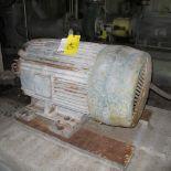 TOSHIBA B1254FLG3BSHD A/C MOTOR, 125 HP, 1800 RPM, 444TS FRAME, TERTIARY CLEANERS FEED PUMP (42538)