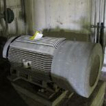 TOSHIBA 4DG200L1HHRC A/C MOTOR, 200 HP, 1800 RPM, 5010US, A-LINE SECONDARY CLEANERS FEED PUMP (