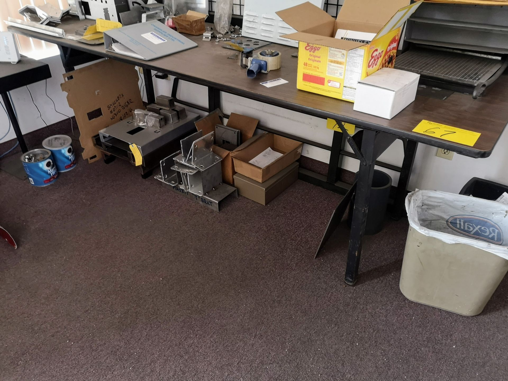 Lot 67 - CONTENTS OF OUTTER OFFICE (NO PERSONAL EFFECTS OR COMPUTER EQUIPMENT)