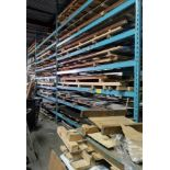 """LOT ASST. PALLET RACKING W/ (6) UPRIGHTS 16' X 42"""" W/ (40) CROSSBEAMS 12' X 4"""" AND (10) CROSSBEAMS"""